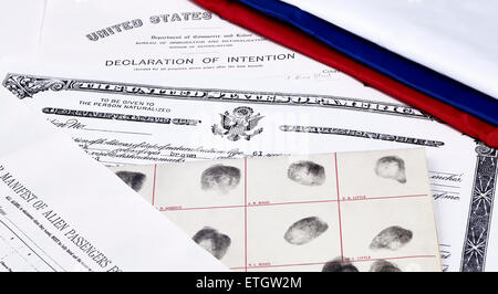 Certificate of Naturalization for the United States Stock ...
