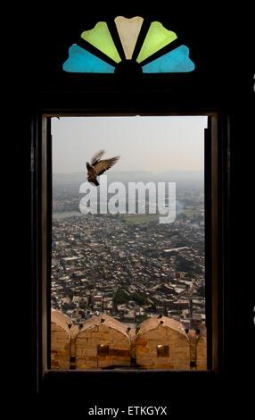 Madhavendra Bhawan, Nahargarh Fort, Jaipur, Rajasthan, India - Stock Photo
