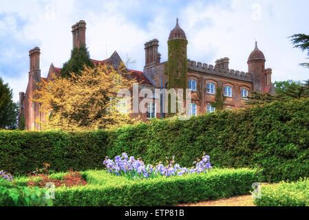 Marwell Hall, Owelsbury, Hampshire, England, UK - Stock Photo