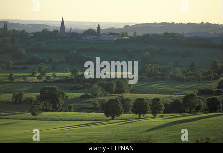 BEL, Belgium, Eastbelgium, countryside between Hombourg and Henri-Chapelle.  BEL, Belgien, Ostbelgien, Landschaft - Stock Photo