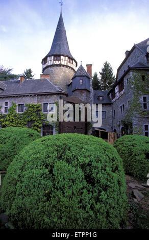 BEL, Belgium, Eastbelgium, Kelmis, Calamine, the castle Eyneburg.  BEL, Belgien, Ostbelgien, Kelmis, Calamine, die - Stock Photo