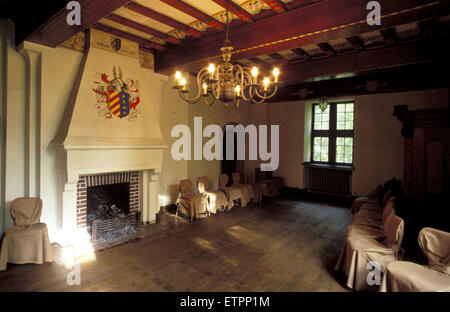 BEL, Belgium, Eastbelgium, Kelmis, Calamine, hall at the castle Eyneburg.  BEL, Belgien, Ostbelgien, Kelmis, Calamine, - Stock Photo