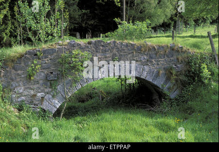 BEL, Belgium, Eastbelgium, Kelmis, Calamine, small bridge near the castle Eyneburg.  BEL, Belgien, Ostbelgien, Kelmis, - Stock Photo