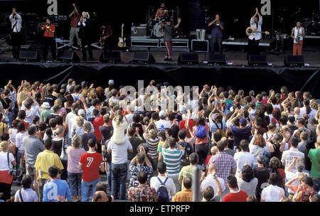 BEL, Belgium, Eastbelgium, Eupen, the open air music festival Musik Marathon at the Werthplatz.  BEL, Belgien, Ostbelgien, - Stock Photo