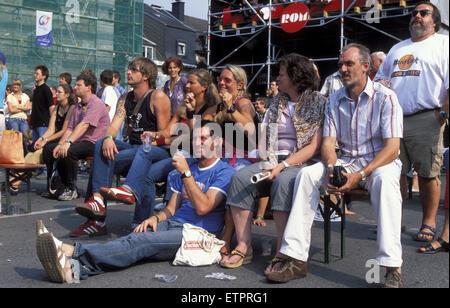 BEL, Belgium, Eastbelgium, Eupen, at the open air music festival Musik Marathon at the Werthplatz.  BEL, Belgien, - Stock Photo