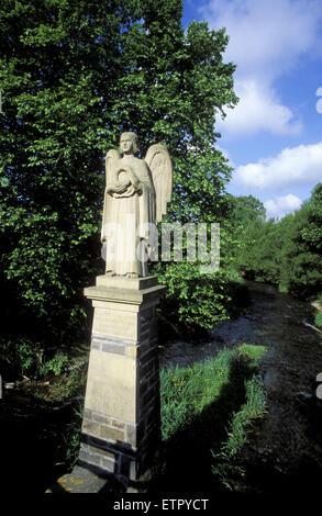 BEL, Belgium, Eastbelgium, Ambleve, the angel bridge across the river Ambleve.  BEL, Belgien, Ostbelgien, Amel, - Stock Photo