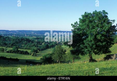 BEL, Belgium, Eastbelgium, countryside between Welkenraedt and Lontzen.  BEL, Belgien, Ostbelgien, Landschaft zwischen - Stock Photo
