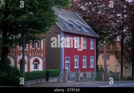 BEL, Belgium, Eastbelgium, Kelmis, Calamine, house at the street to Hergenrath.  BEL, Belgien, Ostbelgien, Kelmis, - Stock Photo