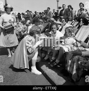 Hastings Carnival, Sussex. 11th July 1956. - Stock Photo