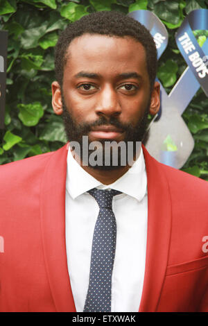 London, UK. 12 June 2015  Bashy attends LCM s/s 2016: One For The Boys Charity Ball at the Roundhouse, Camden London - Stock Photo