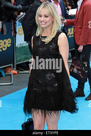 London, UK. 09 June 2015  Kimberly Wyatt Rogers attends the 'Entourage' European Film Premiere at the Odeon, Leicester - Stock Photo