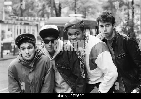 The Beastie Boys in Amsterdam. 22nd May 1987. - Stock Photo
