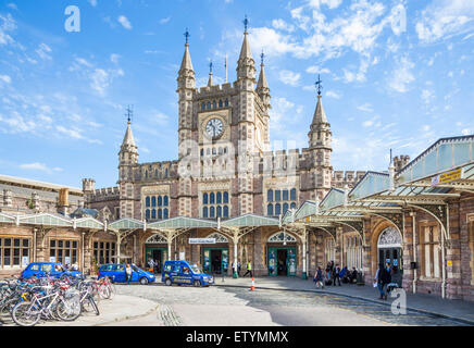 Bristol Temple Meads Railway station Bristol Avon England UK GB EU Europe - Stock Photo