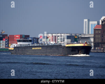 Somtrans XVIII - IMO 9372808 - ENI 02328172, Noordzeekanaal, Port of Amsterdam, pic1 - Stock Photo