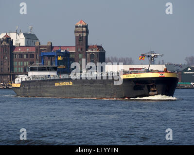 Somtrans XVIII - IMO 9372808 - ENI 02328172, Noordzeekanaal, Port of Amsterdam, pic2 - Stock Photo