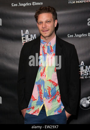 Los Angeles, California, USA. 16th June, 2015. Todd Strauss-Schulson attends Los Angeles Film Festival Screening - Stock Photo