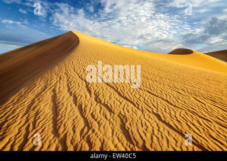 Huge dunes of the desert. - Stock Photo