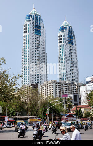 The imperial twin towers residential skyscraper complex tallest mumbai india indian asian tardeo jehangir boman behram road architect hafeez contractor tallest building the imperial altavistaventures Choice Image