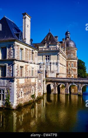 france maine et loire saint martin de la place chateau de boumois stock photo royalty free. Black Bedroom Furniture Sets. Home Design Ideas