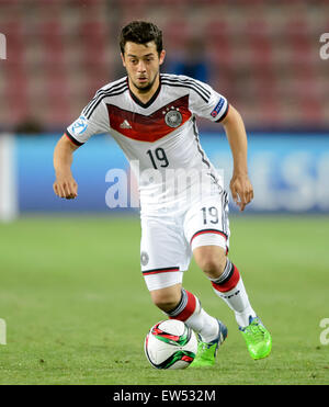 Germany's Amin Younes during the UEFA Under-21 European Championships 2015 group A soccer match between Germany - Stock Photo