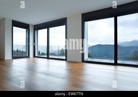 interior modern house, empty room - Stock Photo