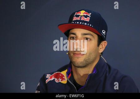 18.06.2015. Red Bull Ring, Spielberg, Austria. Formula 1 Grand Prix of Austria.  Infiniti Red Bull Racing driver - Stock Photo