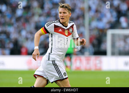 Friendlymatch at Rhein Energie Stadion Cologne: Germany vs USA: Bastian Schweinsteiger (GER) - Stock Photo