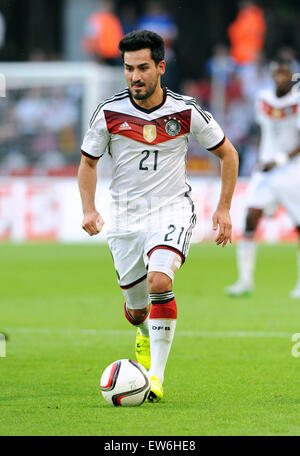Friendlymatch at Rhein Energie Stadion Cologne: Germany vs USA: Ilkay Guendogan (GER) - Stock Photo