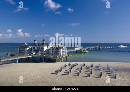 Sellin Pier, Rügen, Germany - Stock Photo