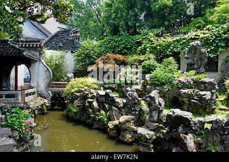 YuYuan Garden in Shanghai Yu Yuan Garden Bazaar China Stock Photo ...