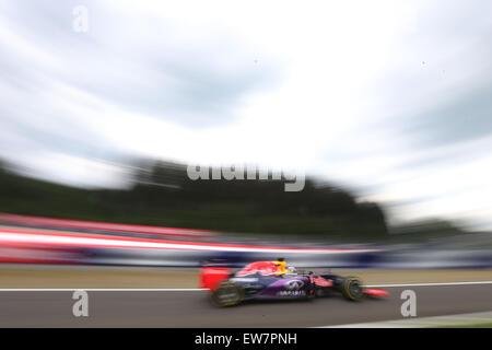 Red Bull Ring, Austria. 19th June, 2015. Motorsports: FIA Formula One World Championship 2015, Grand Prix of Austria, - Stock Photo