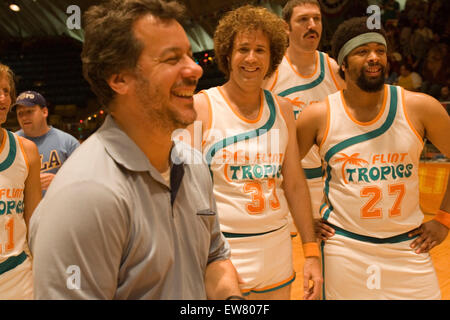 On the set of the movie 'Semi- Pro', starring Will Ferrell, Los Angeles, Ca March 22 2007. - Stock Photo