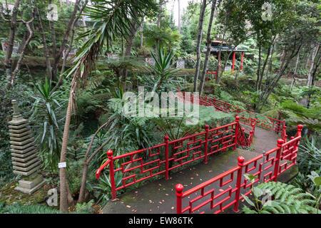 Funchal Monte Palace Tropical Garden, Japanese garden