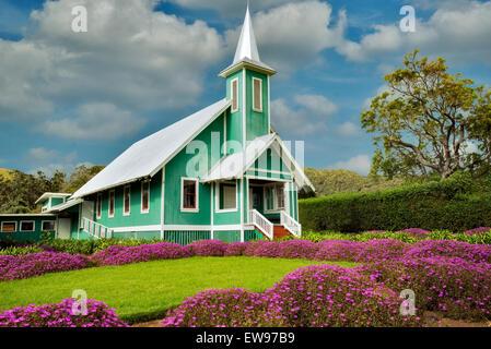 Keola Mauloa Church. Waimea, Hawaii, The Big Island