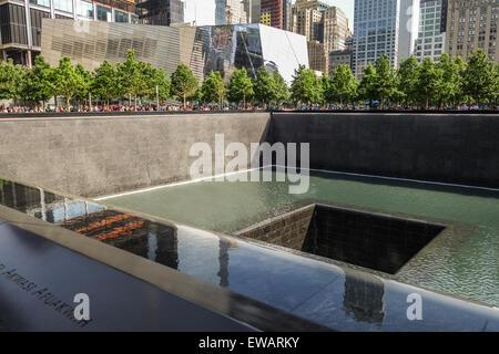 The National September 11 Memorial & Museum, New york city, USA. - Stock Photo