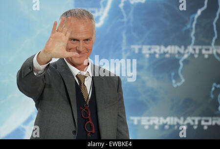 Berlin, Germany. 21st June, 2015. Director Alan Taylor arrives to the European premiere of the film 'Terminator Genisys' in Berlin, Germany, 21 June 2015. Photo: Joerg Carstensen/dpa/Alamy Live News Stock Photo
