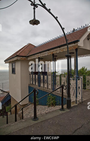 Old Cliff Lift at Westcliff-on-Sea - Stock Photo
