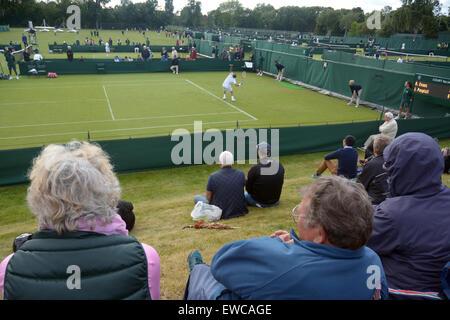 Wimbledon, London, UK. 22nd June, 2015. Bank of England Sports Grounds Roehampton London England 22nd June 2015. - Stock Photo