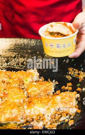 Wuhan famous street snack doupi in china. - Stock Photo