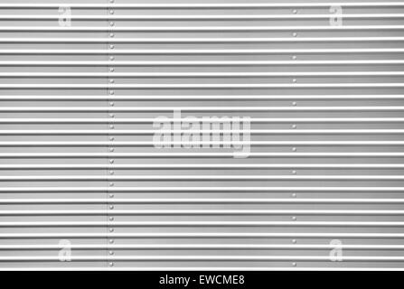 Metal sheet with bolts - Stock Photo