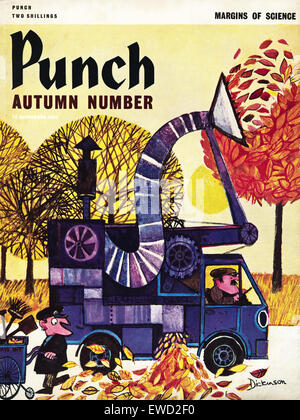 PUNCH magazine dated 11th September 1968 illustration by Geoffrey Dickinson - Stock Photo