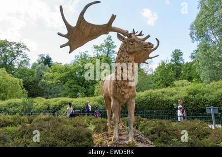 Crystal Palace Park, London England United Kingdom UK - Stock Photo