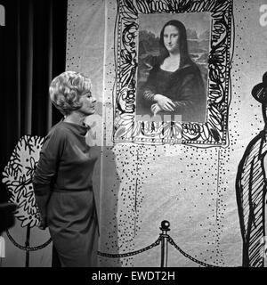 Frau denkt, Fernsehfilm, Deutschland 1966, Szenenfoto - Stock Photo