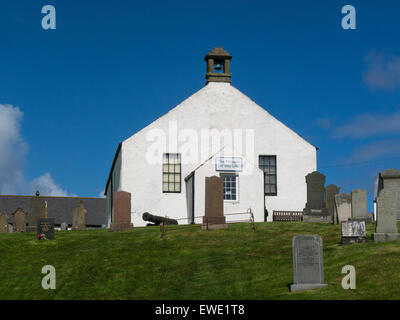 Museum of Islay Life housed in old Chapel Port Charlotte Isle of Islay Argyll and Bute Scotland best preserved village - Stock Photo