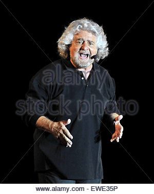 Beppe Grillo - Stock Photo