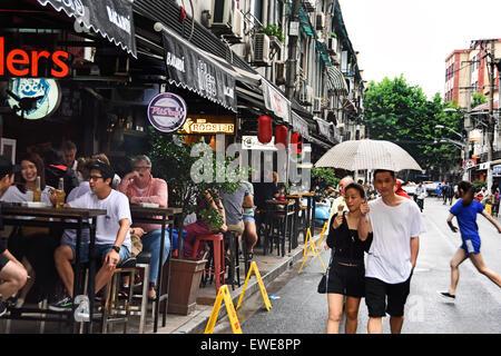 Julu Road Bar Street French Concession Shanghai China