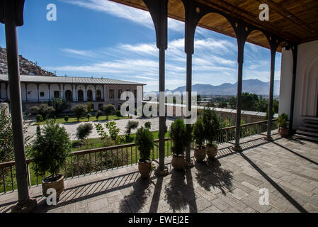 Queen's Palace in Gardens of Babur, Kabul, Afghanistan - Stock Photo