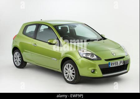 2009 Renault Clio - Stock Photo