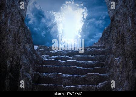 Gates to heaven - Stock Photo