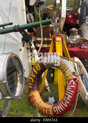 UK, England, Cheshire, Tabley, Cheshire Showground, Decorative Home & Salvage Show, stalls selling antiques, life - Stock Photo